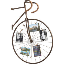 Wall Decoration Memo Holder Bike