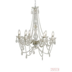 Pendant Lamp Starlight Clear 6-branched