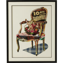 Picture Frame Art Chair Pin Up 90x72cm