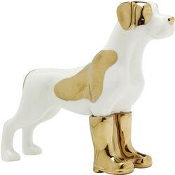 Deco Figurine Dog in Boots Small