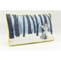 Cushion Art Drawing Fox 30x50cm