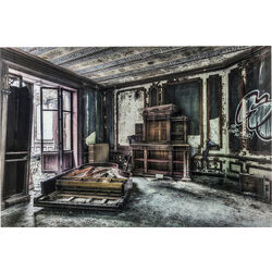 Picture Glass Vintage Piano Room 100x150cm