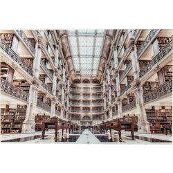 Cuadro cristal Library 100x150cm