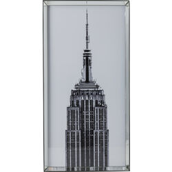 Picture Mirror Frame Empire State Building 125x6