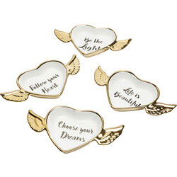 Deco Bowl Flying Heart Assorted