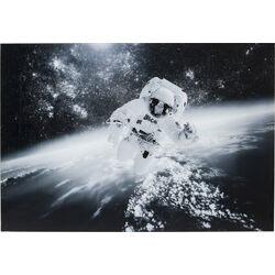 Quadro vetro Man in the Sky 100x150cm