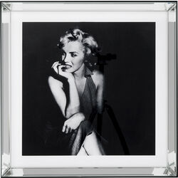 Picture Mirror Frame Hollywood Diva 60x60cm