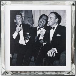 Picture Mirror Frame Rat Pack 60x60cm