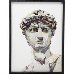 Picture Frame Art Statue 100x75cm