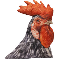Cushion Shape Rooster 47x37cm