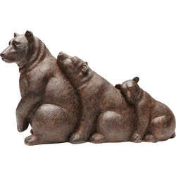 Deco Object Relaxed Bear Family