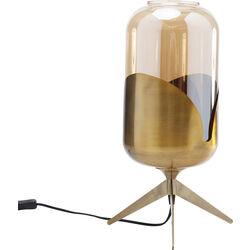 Table Lamp Golden Goblet Pole