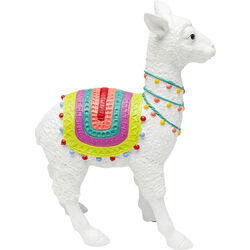 Deco Object Alpaca White 39cm