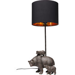 Table Lamp Animal Bear Family