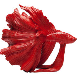 Deco Object Betta Fish Red Small