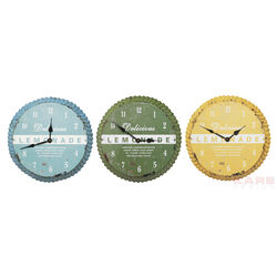 Wall Clock Kronkorken Assorted