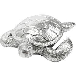 Deco Figurine Turtle Antik Silver