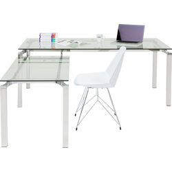 Desk Lorenco Corner Chrome 210x180cm