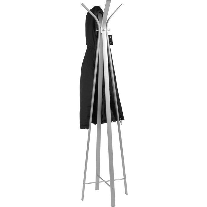 Design Garderobenständer garderobenständer libra alufarbig kare design
