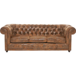 Sofa Oxford 3-Seater Vintage Eco