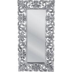 Mirror Italian Baroque Silver 180x90