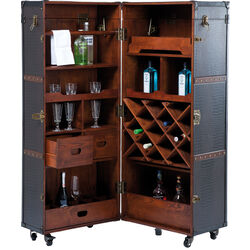 Wardrobe Trunk Bar Globetrotter