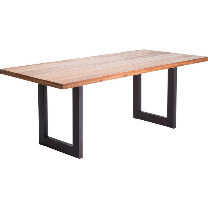Factory tisch wood 200x90cm kare design for Tisch kare design