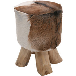 Stool Flint Stone nature Ø35