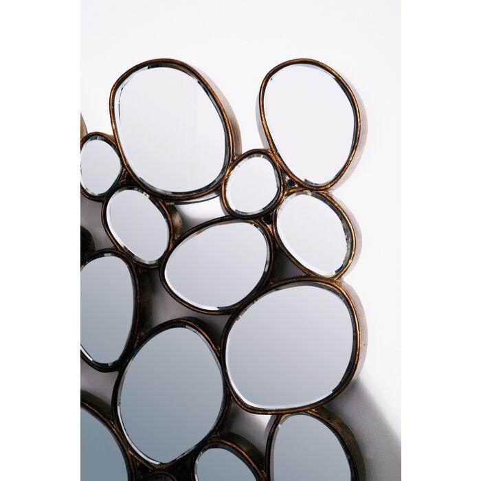 Spiegel Kare Design mirror water drops copper 135x78 kare design