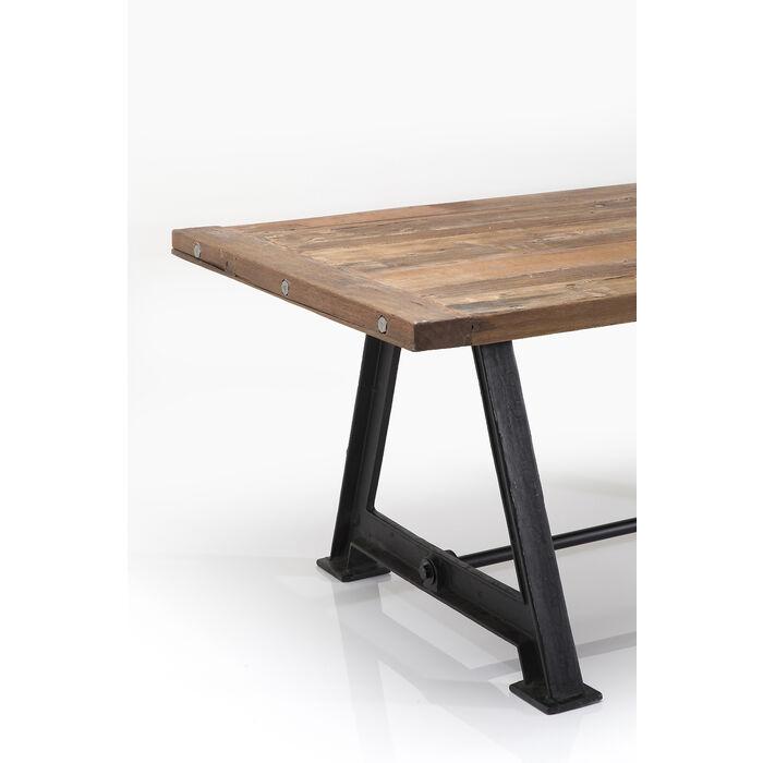 Tisch railway unikat 210x100cm kare design for Table bar fer forge