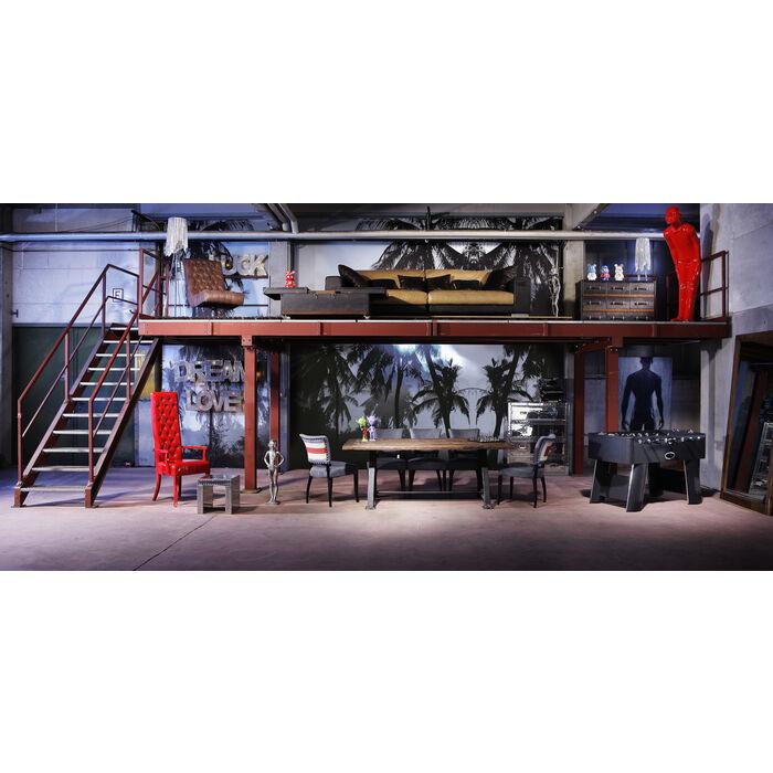tisch railway unikat 210x100cm kare design. Black Bedroom Furniture Sets. Home Design Ideas