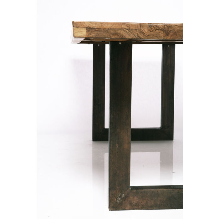 Factory tisch wood 160x90cm kare design for Tisch design wood