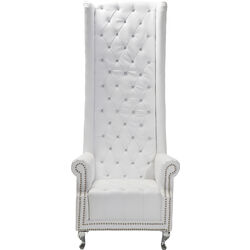Arm Chair Queen White