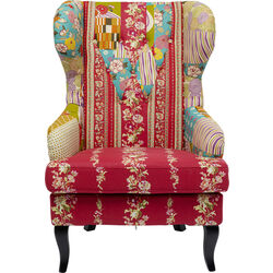 Armchair Patchwork Red