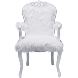 Armchair Romantico Fur