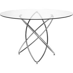 Table Molekular Silver Ø120cm