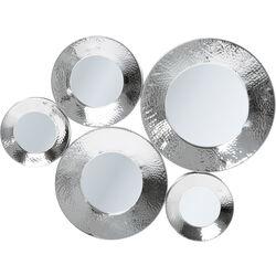 Mirror Circoli Cinque Silver