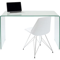 Office Desk Clear Club 125x60cm