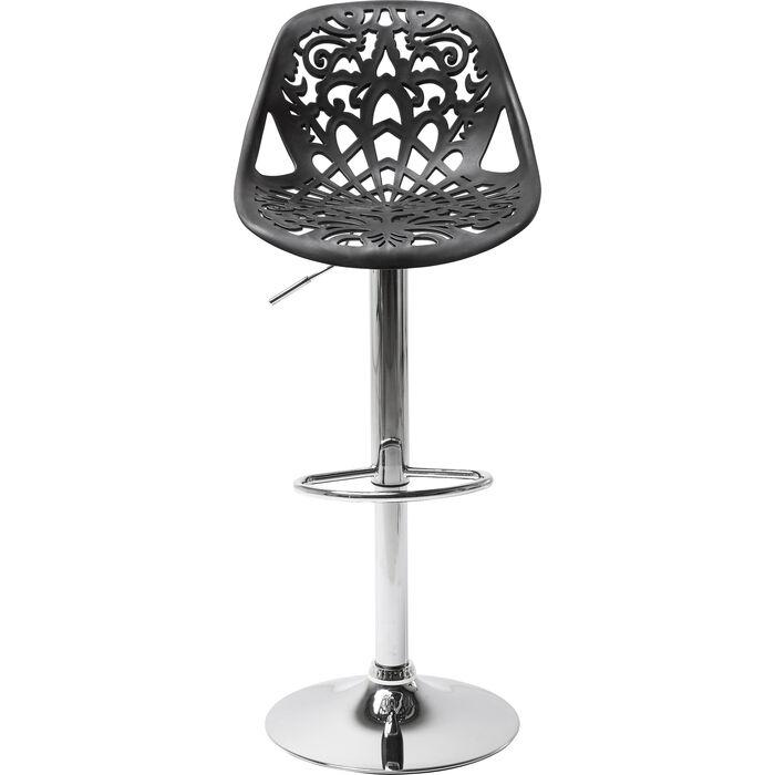 barhocker ornament black kare design. Black Bedroom Furniture Sets. Home Design Ideas