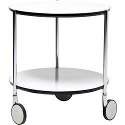 Side Table Doppio White Ø40cm