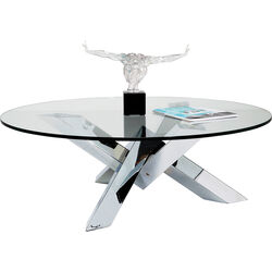 Coffee Table Crystal Eco Ø100cm