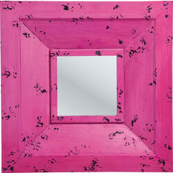 Mirror Camera Purple 72x72cm