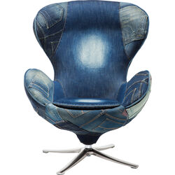 Swivel Chair Lounge Jeans