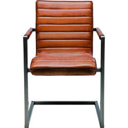 Cantilever Armchair Riffle Buffalo Brown
