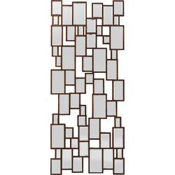Mirror Cubes Copper 132x54cm