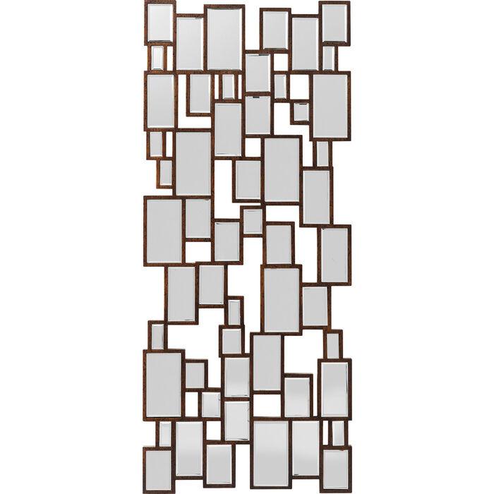 spiegel cubes copper 132x54cm kare design. Black Bedroom Furniture Sets. Home Design Ideas