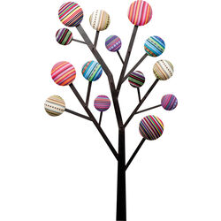 Perchero pared Bubble Tree