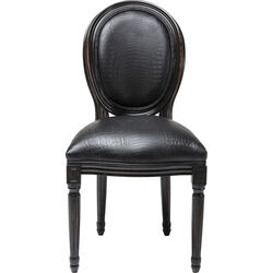 Chair Gastro Louis Black Croco