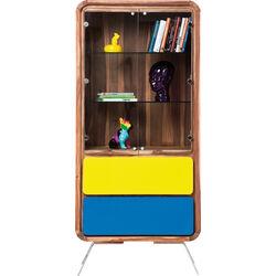 Display Cabinet Bilbao 2 Doors 2 Drw