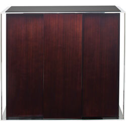 Cabinet Vanity Brown 3 Doors